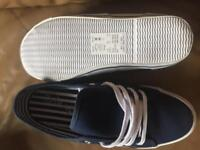 Size 8EEE Simply Be canvas shoes