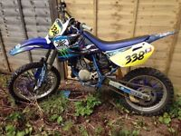 Yamaha YZ85 big wheel. Weston super mare. Motocross Mx bike motorbike dirt bike