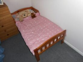 Mothercare Toddler Bed. (Marlow in Pine)