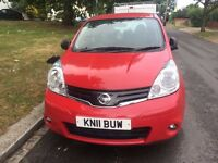 Nissan Note , Manual, 5 Door, Very Smooth Runner, 1 Year MOT