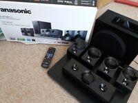 Panasonic 3D Blu-ray Disc Home Cinema System 600W £90