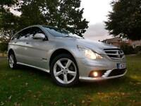 MERCEDES R320 CDI AMG STYLING 7G-TRONIC 4X4 2008 SAT NAV, LEATHERS, HEATED ELEC SEATS, PDC
