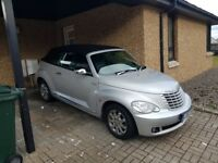 PT CRUISER CONVERTIBLE AUTOMATIC LIMITED EDITION VERY LOW MILEAGE