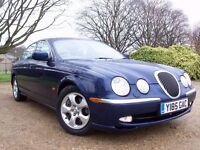 @@STUNNING 2001 JAGUAR S-TYPE 3L SE.FULL SERVICE HIST/1 YEAR MOT FEB 2018,LEATHER,PARK SENS.SUNROOF@