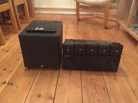 Pioneer AV receiver & 5.1 Boston surround sound speakers