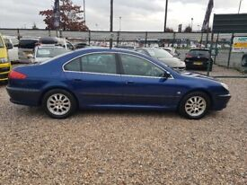 2004 Peugeot 607 2.2 HDI diesel automatic family car with TOWBAR facelift in excellent condition