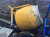 Belle mini mix 130 240v cement mixer