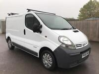 2006 56 NISSAN PRIMASTAR/VIVARO/TRAFIC DCI 100 6 SPEED EXCELLENT EXAMPLE NO VAT
