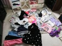 Large bundle of girls 7/8 clothes
