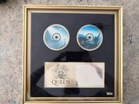 QUEEN LIMITED EDITION CD ALBUMS ULTIMATE COLLECTION BOX SET DISPLAY CASE 1995