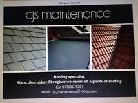 Cjs maintenance ,roofing,facias,gutters,building work