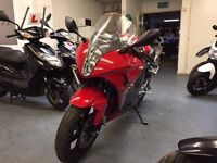Hyosung GT125 R Manual Sports Bike, V Twin, Good Condition, Low Miles, ** Finance Available **