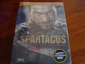 Brand new and sealed Spartacus Blood and sand dvd