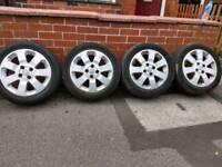 4x Vauxhall Corsa alloys