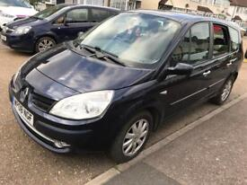 Renault grand scenic 2008 low millage 7 seater diesel
