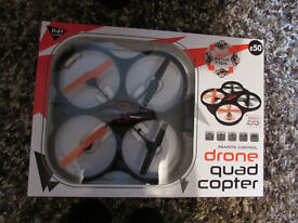 Drone Quad Copter age 14+ used once complete with orginal box