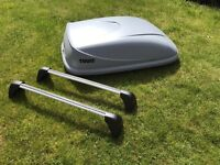 Thule Ocean 80 Roof box and bars Vauxhall Astra 2011