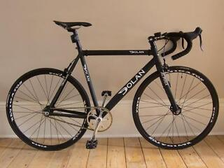 High Spec - Dolan Pre Cursa Fixed Gear Single Speed Bike Matt Black 56cm - SRAM, 3T, Navigator etc