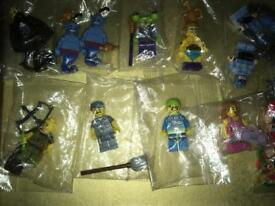 Series Lego figures new 54 in total