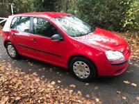 Volkswagen golf 1.9 TDIS 2008 red 85,000 miles long MOT history immaculate