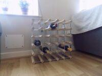30 Bottles brand new wine rack