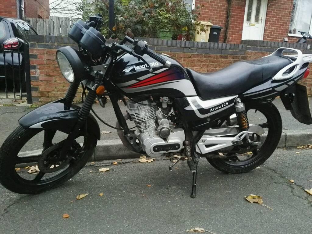 Lexmoto Arrow 125 MOT'd 125cc learner motorcycle motorbike £450 suzuki yamaha honda ybr cbf yz gn dr