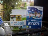 Nintendo Wii with Wii Sports + Resort