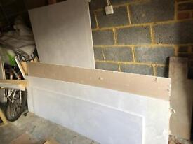 Various sizes of Plasterboard