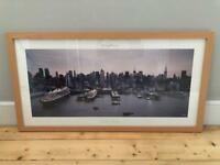 Framed Poster of NYC