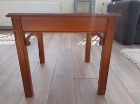 Small yew wood coffee / side table