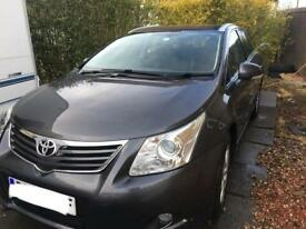 Toyota avensis estate low miles