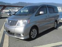 Toyota Alphard direct Japan import supplied fully UK reg. More enroute contact Algys Autos