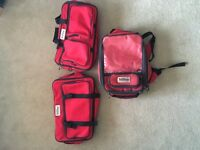 Oxford Sovereign Tank Bag/Rucksack and 2 Panniers