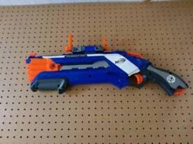 Nerf 4x2 Roughcut dart gun