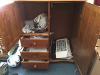 An excellent almira almost new with double doors need to dispose off as moving house