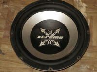 2 Sub Woofers , 400 watts and 1200 watts for sale