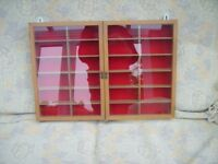 4 Display Cabinets Ideal for Dinky/Corgi/EFE/Matchbox etc.