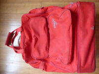 Rucksack, Backpack in Red 73 litres / Camping Hiking Trekking / Sports Leisure Travel