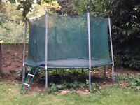 Fantastic 12 foot OctaJump King large trampoline for energetic children