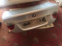 BMW bootlid