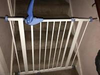 child safety stair door
