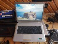 Perfect working order sony vaio pcg-7144m windows 7 250g hard drive 3g memory wifi webca