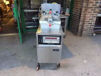 CATERING COMMERCIAL CHICKEN PRESSURE FRYER MACHINE GAS 8000 TAKE AWAY FAST FOOD RESTAURANT KITCHEN