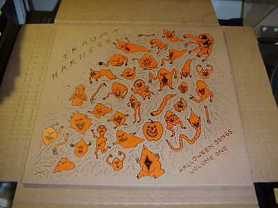 LP:  TRAUMA HARNESS - Halloween Songs Volume One NEW UNPLAYED PUNK