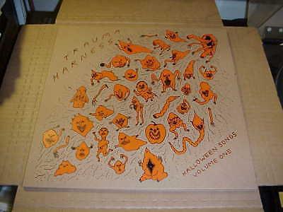 LP:  TRAUMA HARNESS - Halloween Songs Volume One NEW UNPLAYED PUNK