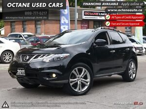 2011 Nissan Murano LE - Leather, Sunroof! FINANCING AVAILABLE