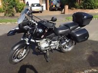BMW R1150GS with full luggage. Lovely condition