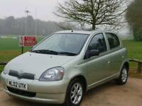 TOYOTA YARIS 1.0L AUTOMATIC 5DOOR 74900 MILES MOT TILL18/4/2019 15 SERVICES EXCELLENT CONDITION