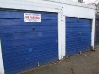 Clapham garage to let. £40 per week inc. Rarely available