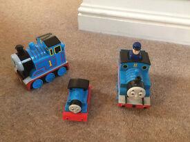 3 x Thomas the tank toys
